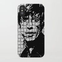 stephen king iPhone & iPod Cases featuring Stephen Hawking by Silvio Ledbetter