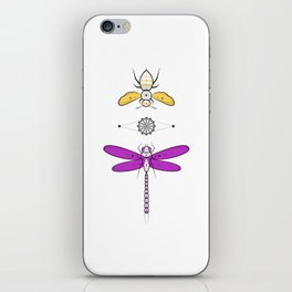 Two Insects iPhone Skin