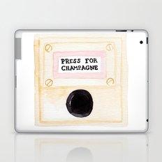 Press For Champagne Laptop & iPad Skin