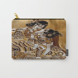 Indian God Radha Krishna Carry-All Pouch