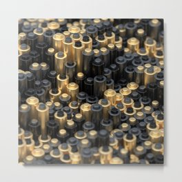 Peg Board Metal Print
