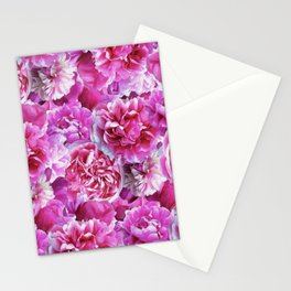Lovely pink peonies Stationery Cards