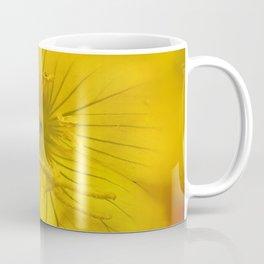 Yellow Bokeh Flower Coffee Mug