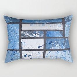 Movin with Pollock, Mondrian & Haring  Rectangular Pillow