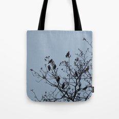 Bird Silhouettes Tote Bag