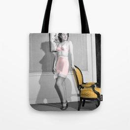 Girdle Girl Tote Bag