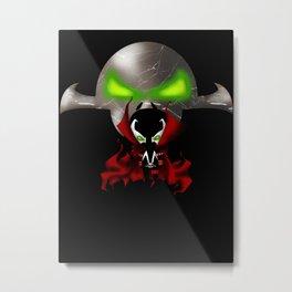 Chibi Spawn Metal Print