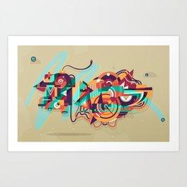 crossingbird Art Print