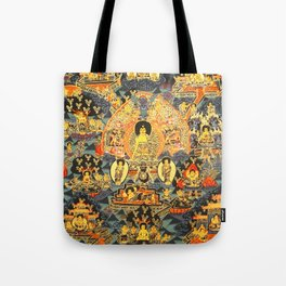 Mandala Buddhist 7 Tote Bag