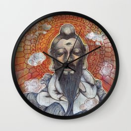 A Turtle On Vacation Wall Clock