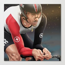 Fabian Cancellara | seeing gold Canvas Print