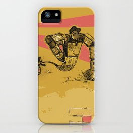 Graffito - The Genie from a Can iPhone Case