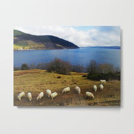 Nessie and All of Her Friends Metal Print