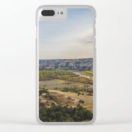 Badlands, Theodore Roosevelt NP, ND 11 Clear iPhone Case