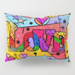 Love Popart by Nico Bielow Pillow Sham
