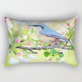 spring bird Rectangular Pillow
