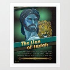 The Lion Of Judah 1 Art Print
