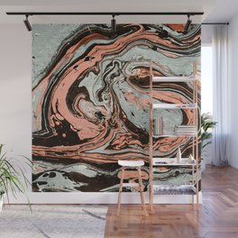 Abstract luxury painting marble Wall Mural