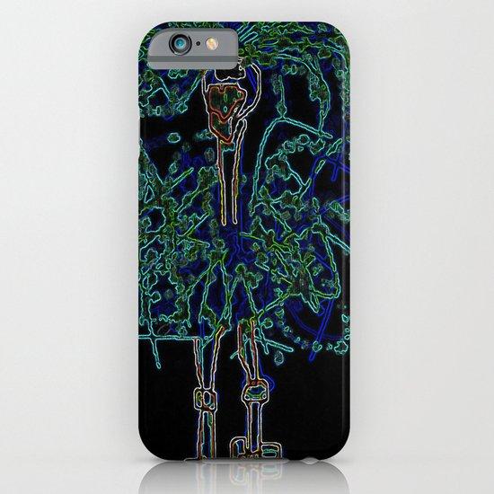 Neon Sally Rand iPhone & iPod Case