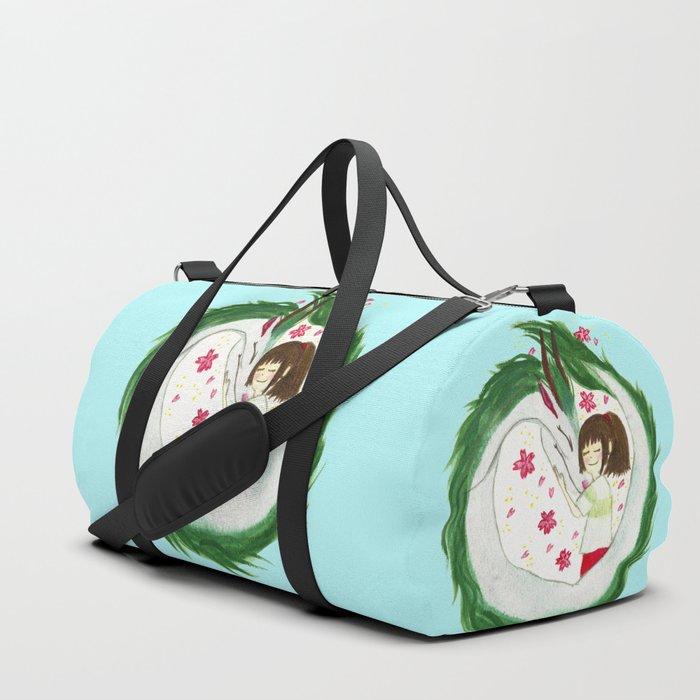 Watercolor Spirited Away - The Love Gathering Duffle Bag