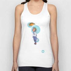 Topaz Dreaming. Unisex Tank Top