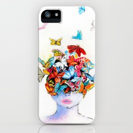 Beautiful life iPhone Case