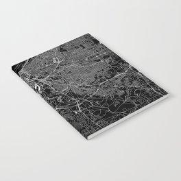 Cleveland Black Map Notebook