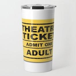 Theatre Ticket Travel Mug