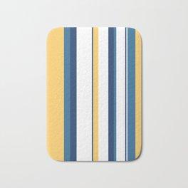 Vintage 1950s stripes Bath Mat