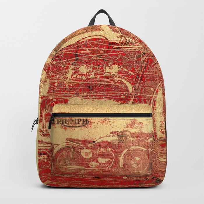 Triumph - Vintage Motorcycle Backpack