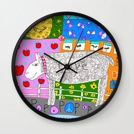 Love Sheep Wall Clock