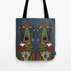 Great Dane love midnight Tote Bag