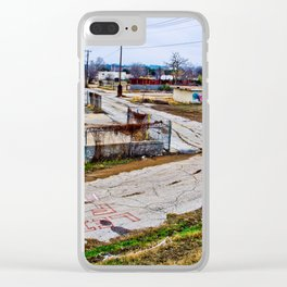 # 124 Clear iPhone Case
