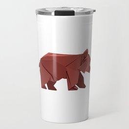 Origami Bear Travel Mug
