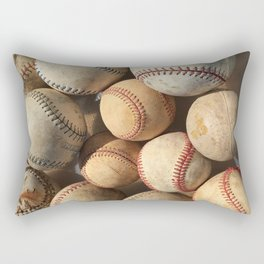 Baseball Obsession Rectangular Pillow