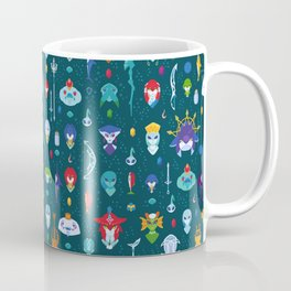 Zora Pattern Coffee Mug