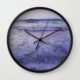Velvet Morning Wall Clock