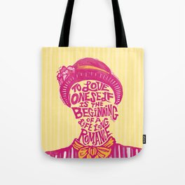 Love Oneself for a Lifelong Romance Tote Bag