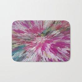 Abstract flower pattern 3 Bath Mat
