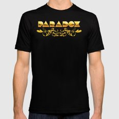 Golden Paradox Mens Fitted Tee Black MEDIUM