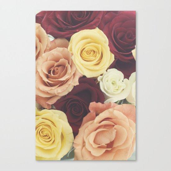 Vintage Roses II Canvas Print