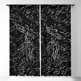 The God ( Modern Religious Art ) Blackout Curtain
