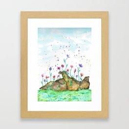 Creation of Bear Framed Art Print
