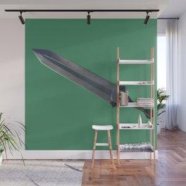 Jazz Jazz Sword Sword - Green Wall Mural