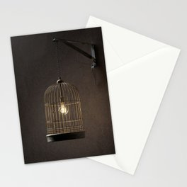 Idea in a cage Stationery Cards