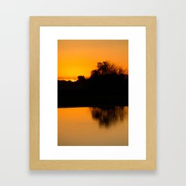 Autumn Sunrise Framed Art Print