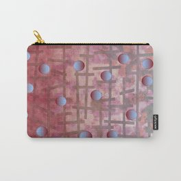 Polka dot et Line Carry-All Pouch