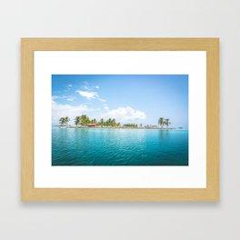 San Blas, Panama. Framed Art Print