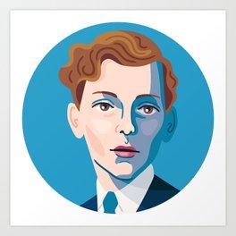 Queer Portrait - Stephen Tennant Art Print