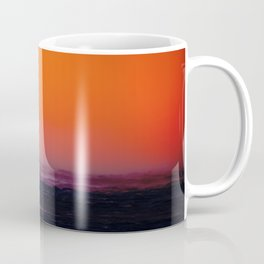 Container ship in the wind Coffee Mug